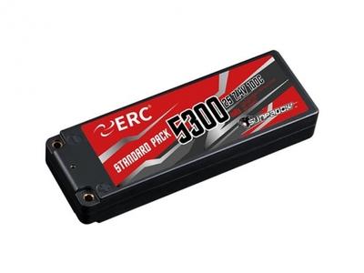 SUNPADOW 7.4V / 5300mAh / 100C ERC LCGリポバッテリー