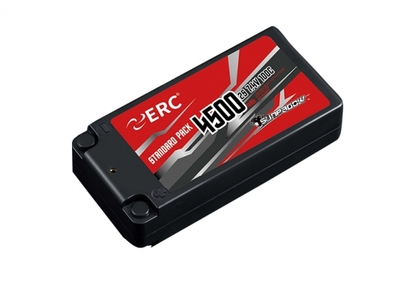 SUNPADOW 7.4V / 4500mAh / 100C ERC ショートリポバッテリー