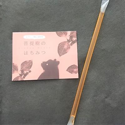 北海道産 はちみつストロー 菩提樹 6g(単品)