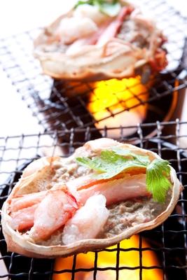 糸魚川産紅ズワイガニの味噌・カニ爪入り カニ味噌甲羅焼き(3個入り)