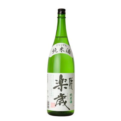 純米酒 楽歳(らくさい) 1,800ml