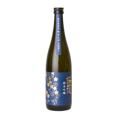 桜顔純米吟醸(吟ぎんが五割磨き) 720ml
