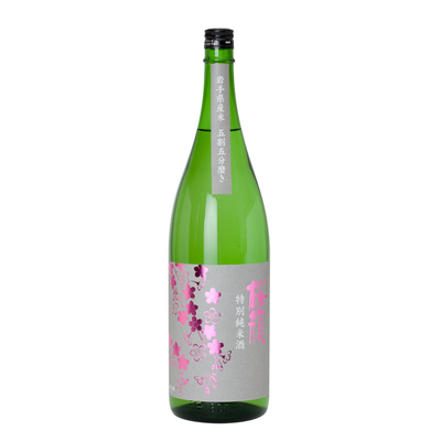 桜顔 特別純米酒 五割五分 1,800ml