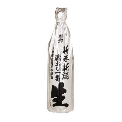 【冬限定】新米新酒 蔵出し一番生(特別本醸造) 720ml【クール便】
