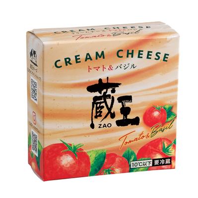 蔵王 クリームチーズ トマト&バジル120g