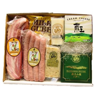 蔵王チーズ・JAPANXコラボ Bセット