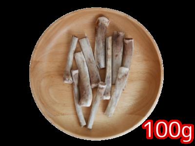 国産豚バラ骨ハーフ 100g
