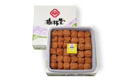 <紀州和歌山>はちみつ風味の梅干し「梅林堂・梅道楽」(700g)