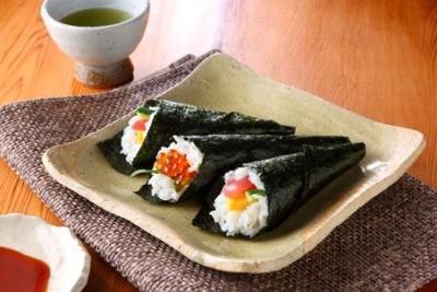 <有明産>焼海苔「寿司のはね」(10枚×10袋・計100枚)