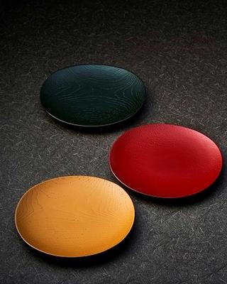 京漆器 小判型銘々皿