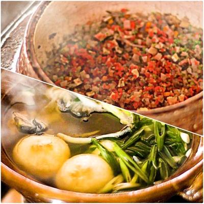 すっぽん鍋とかやくご飯セット