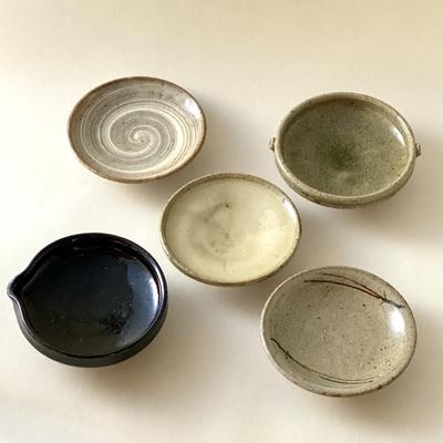 唐津豆皿5枚組「goyu」