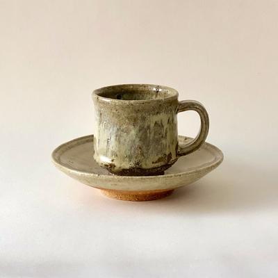 斑唐津コーヒーカップ