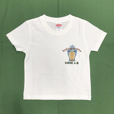 キッズLet's get overTシャツ ハシビロコウ