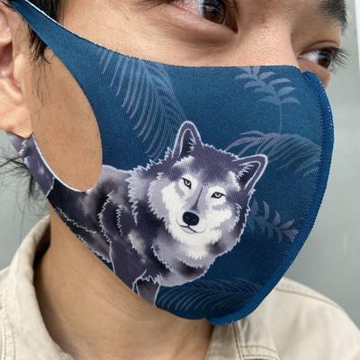 ウレタンマスク シンリンオオカミ 3サイズ 冷感制菌加工
