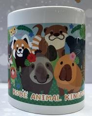 陶器マグカップ動物集合