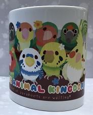 陶器マグカップ鳥集合