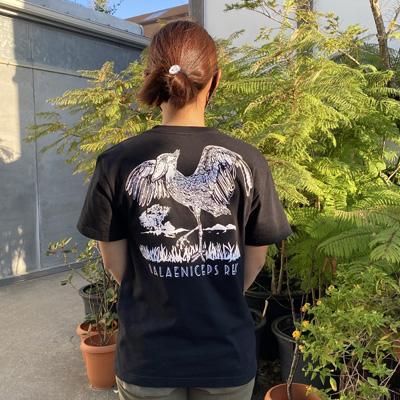 ハシビロコウeyesTシャツ