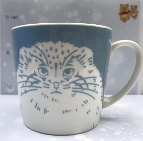 マグカップ(マヌルネコ)