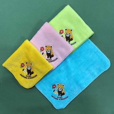 刺繍ミニタオル レッサーパンダ 4色