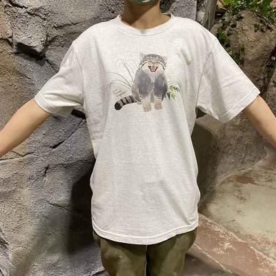 マヌルネコのTシャツ