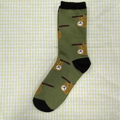 靴下 ナマケモノ