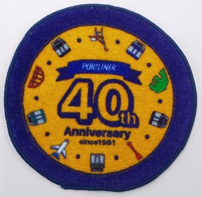 40周年記念 ヘッドマーク柄タオルコースター