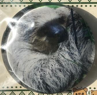 ガラスマグネット ナマケモノ