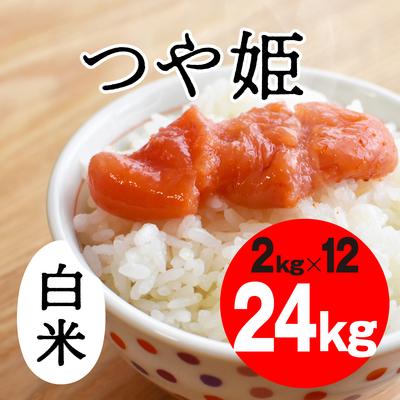 つや姫 白米【24kg】