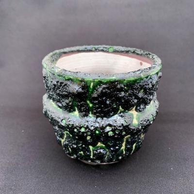 タイ鉢(ダークグリーン)
