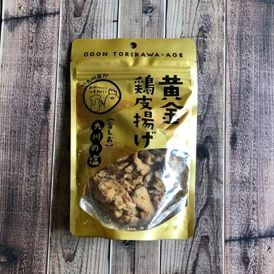 九州丸一食品 黄金鶏皮揚げ 50g