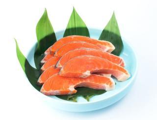 甘塩銀鮭 1切
