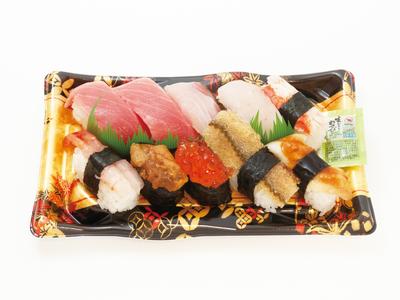 江戸前特上にぎり寿司(10貫・本マグロ中トロ入り)