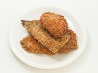 日替り惣菜(フライ3種)