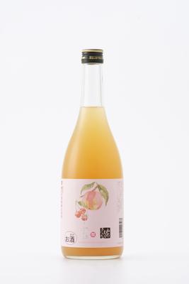 楯野川 子宝もも・さくらんぼのお酒(リキュール)