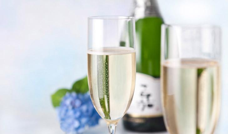 嘉スパークリングワイン シャルドネ