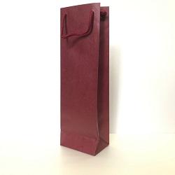 ワイン用紙袋(1本用)レッド