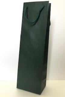 ワイン用紙袋(1本用)グリーン