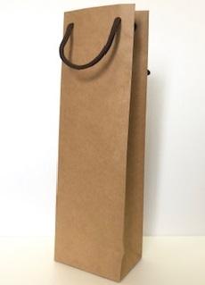 ワイン用紙袋(1本用)クラフト