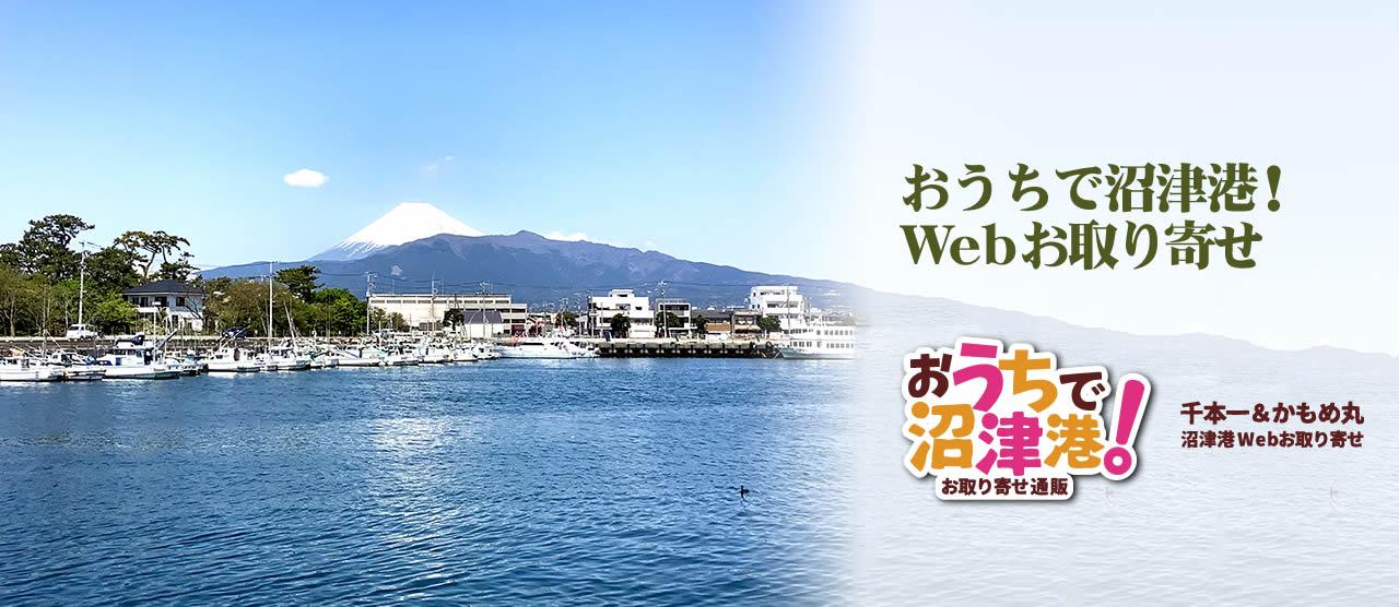 霊峰富士南麓の沼津港