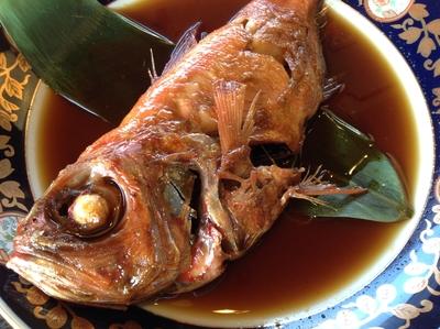 金目鯛の姿煮・冷凍真空パック「湯煎で五分」