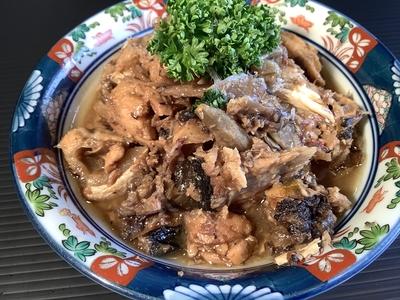 そのまま五分で「ぬまづ丼ごはん」(2人前)/ブリのあら煮(1皿分)付き