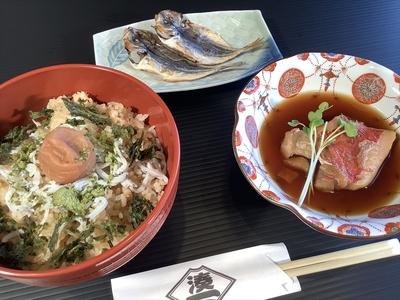 そのまま五分で「ぬまづ丼ごはん」(2人前)/【おすすめセット】金目鯛煮付け(2ヶ)と豆あじ干物(4ヶ)付き