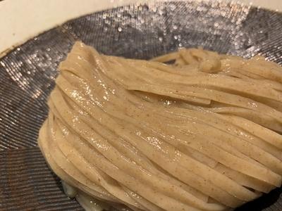 小麦香る 新麦つけそば 2食セット 横山製粉 春よ恋