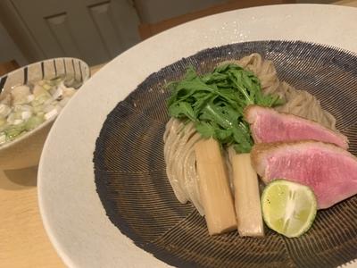 松茸と鴨の塩つけそば 2食セット