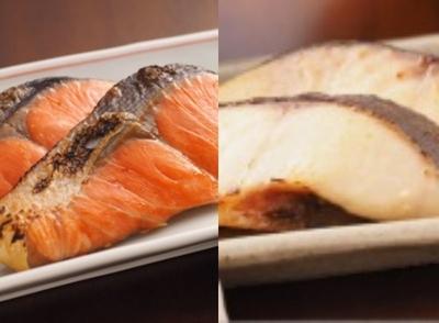 詰合せセット 紅鮭塩糀漬&銀だら味噌漬 2切れ真空×2P&2切れ真空×2P