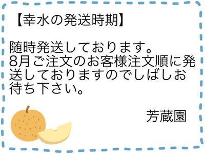 幸水(こうすい)【3キロ】