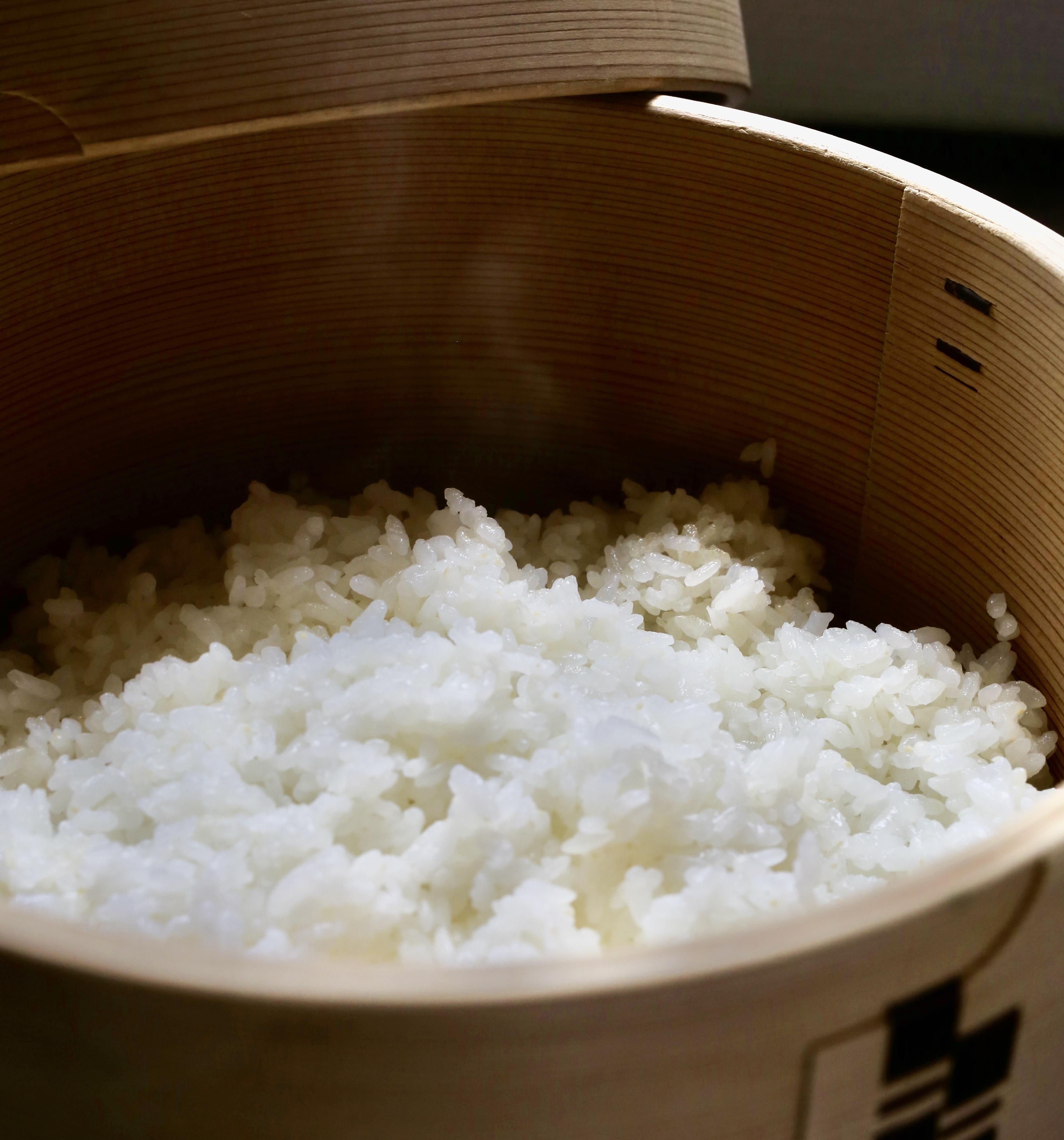 あづみのの豊かな自然の中育った甘いお米です
