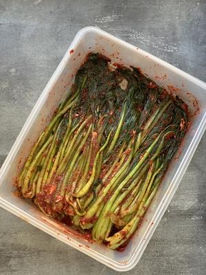 小松菜のキムチ