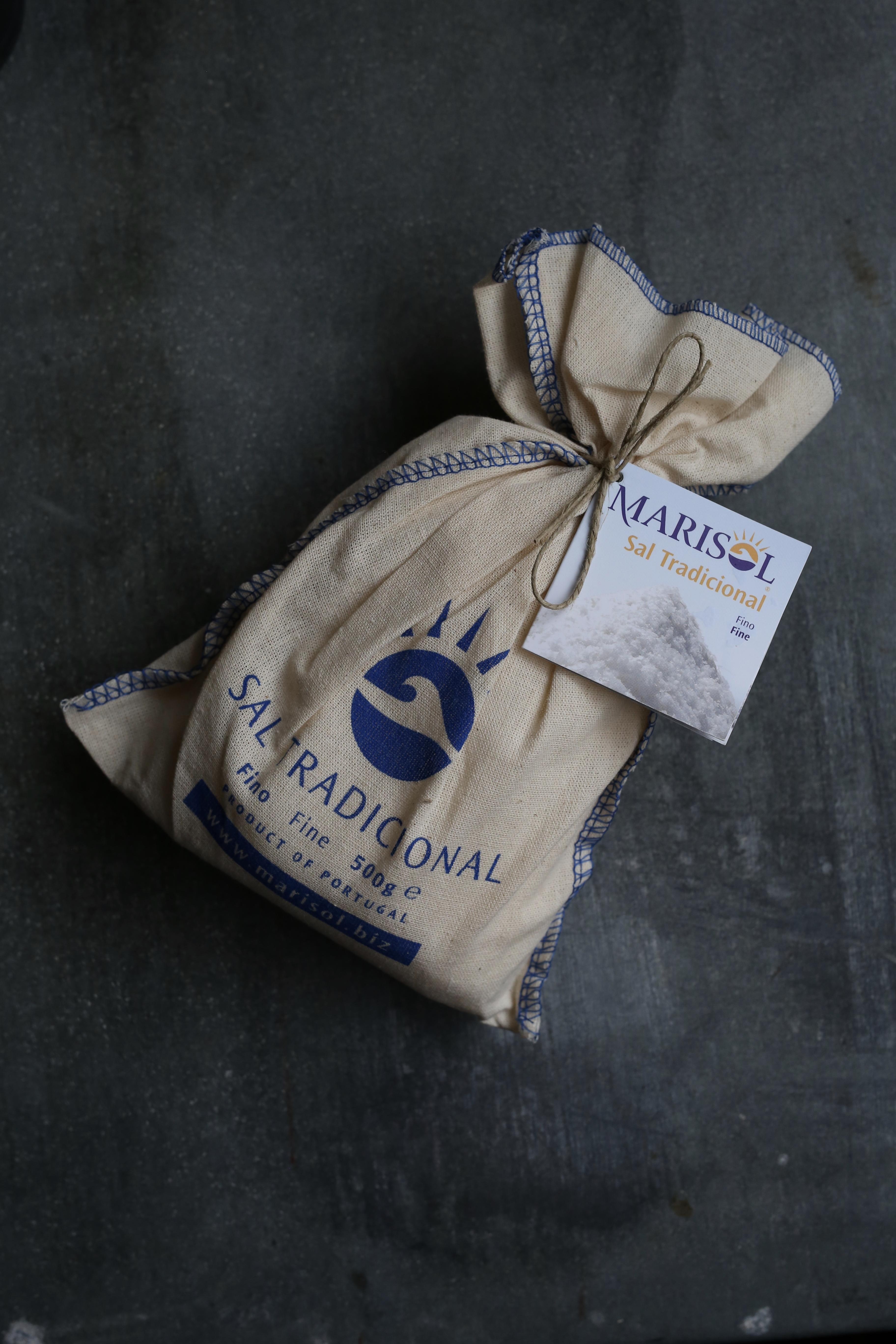 ポルトガル マリソル自然海塩 トラディショナル 顆粒 500g